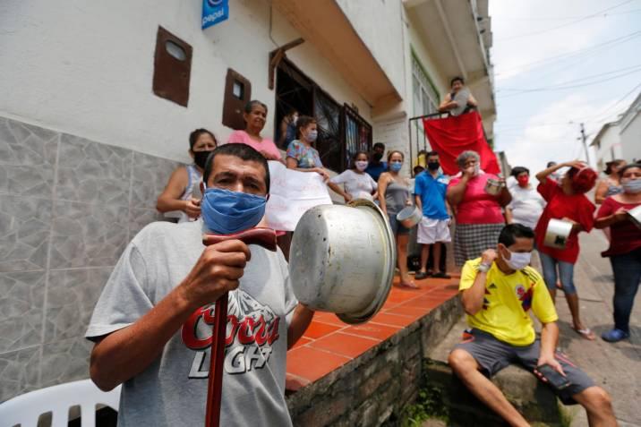 Crisis social y económica en Colombia por el coronavirus