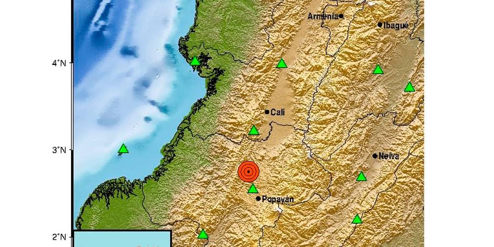 Temblor Cauca