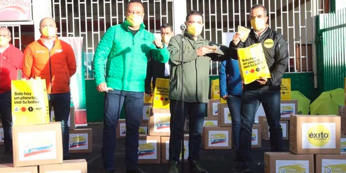Donan 20 mil tapabocas a la Gobernación de Cundinamarca
