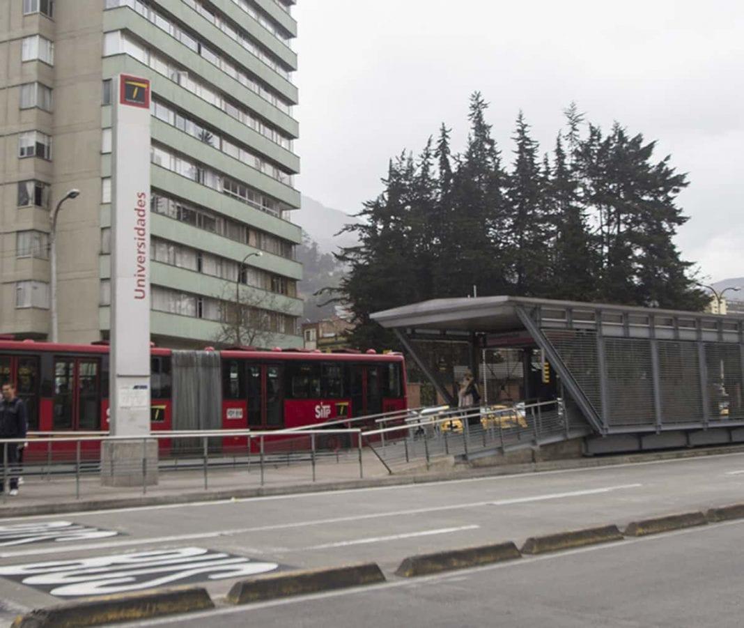 Estaciones Transmilenio