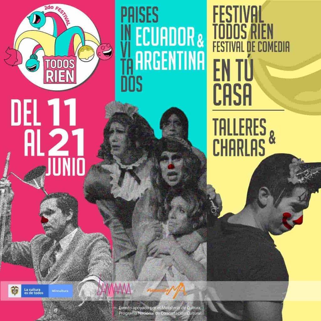 Festival Virtual Todos Ríen 2020 prepara motores