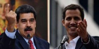 Maduro y Guaidó