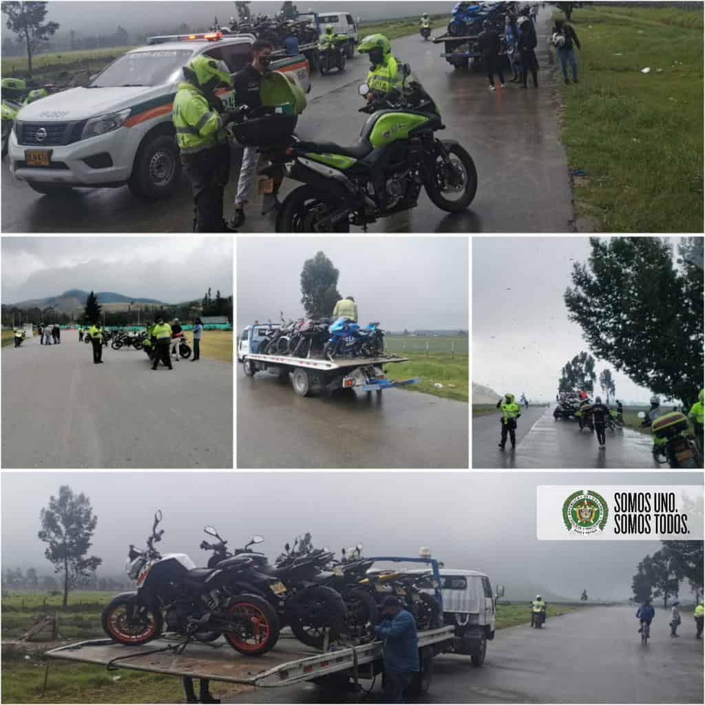 En Soacha recuperan vehículo hurtado y detienen piques ilegales