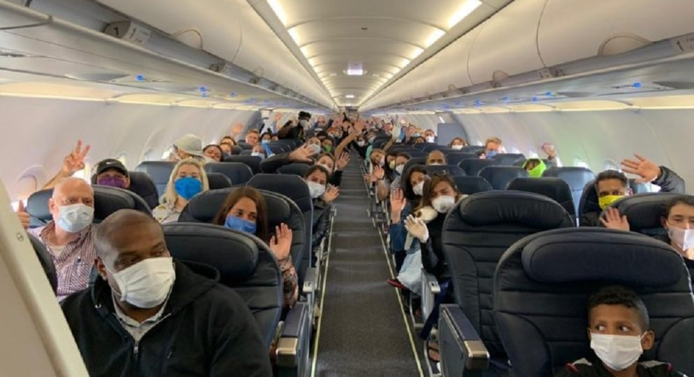Cancillería vuelos connacionales