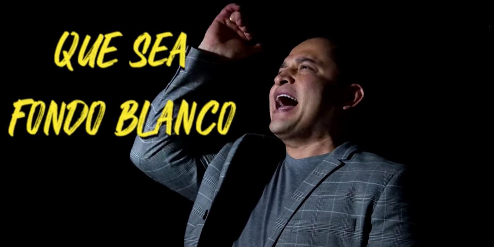 Fondo Blanco, lo nuevo de Freddy Burbano