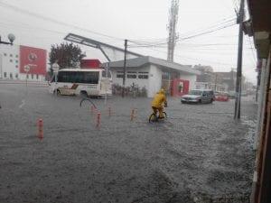 Municipio de Funza se inundó debido a las fuertes lluvias