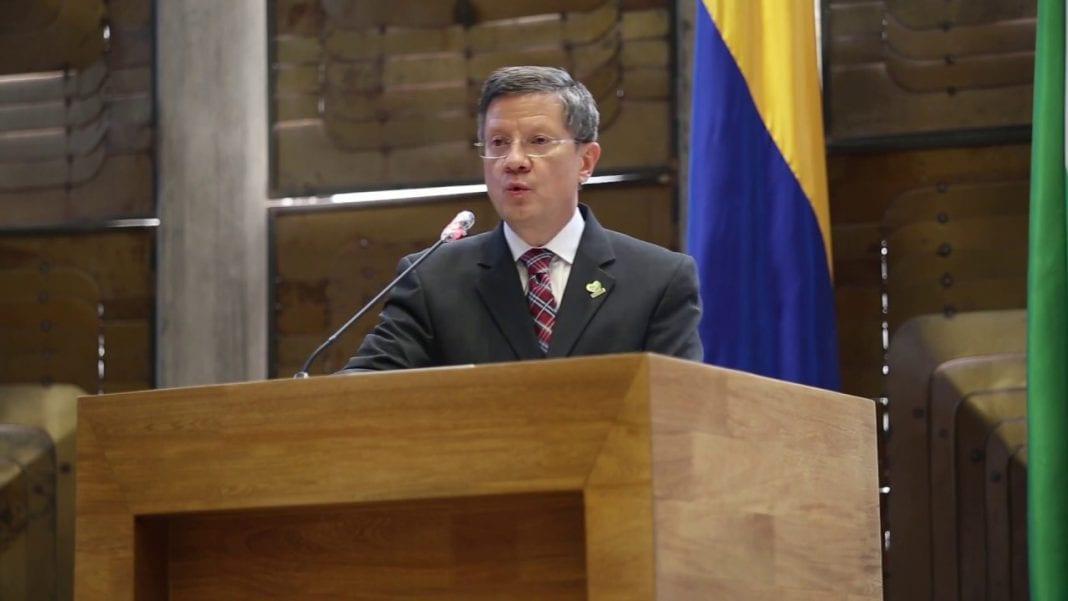 Gobernador encargado Antioquia