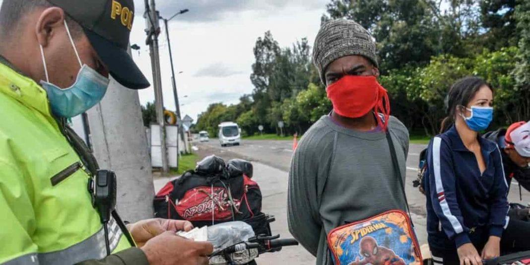 ¡Ojo! Estos son los comparendos por incumplir la cuarentena en Bogotá