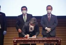 Corea del Sur acuerdo Bogotá