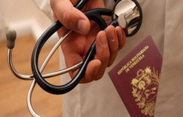 Médicos venezolanos
