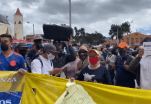 Protesta por Ciudadela Sucre Soacha