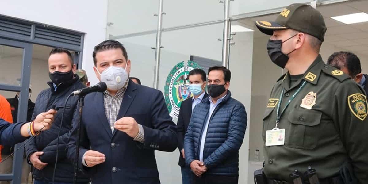 Se Inaugura subestación de Policía en Zipaquirá