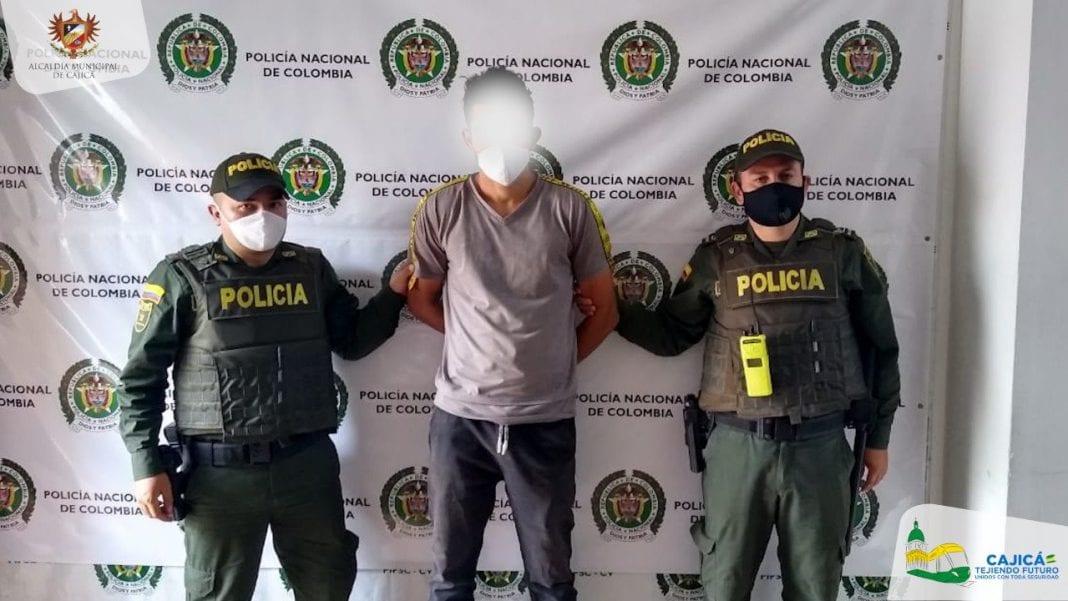 extranjero capturado