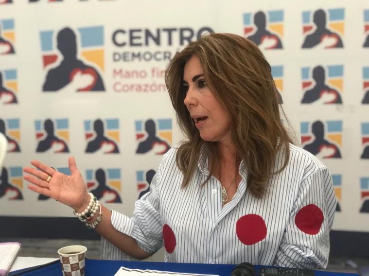 directora del centro democrático