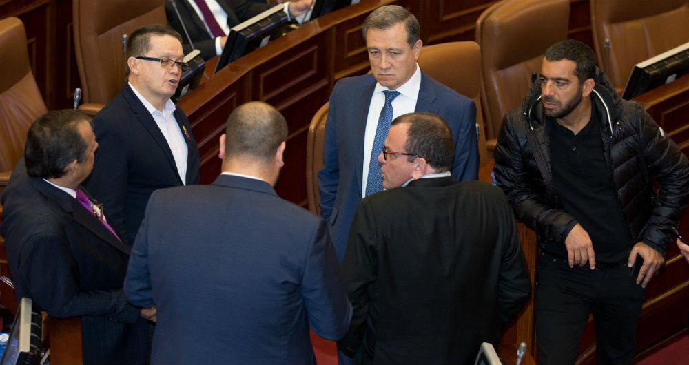 senadores impedidos