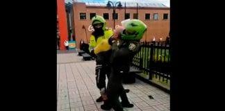 abuso policial en Suba