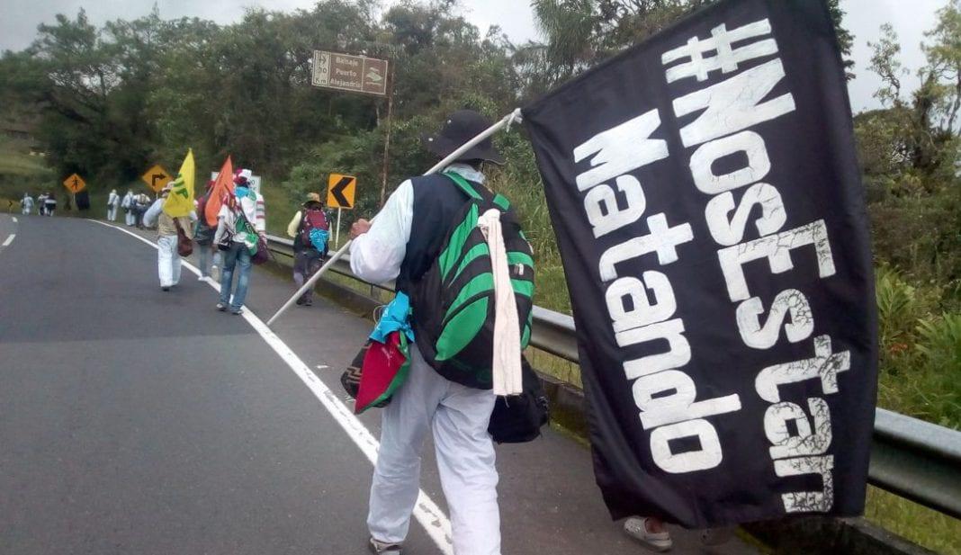 marcha por la dignidad