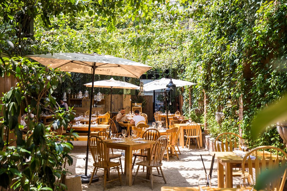restaurantes aire libre