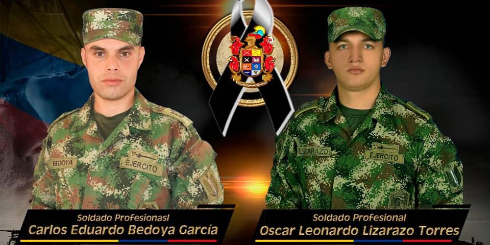 soldados muertos en combate