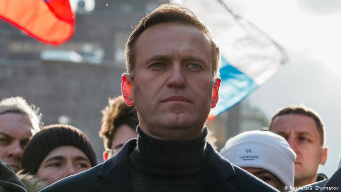Alexéi Navalni líder opositor ruso