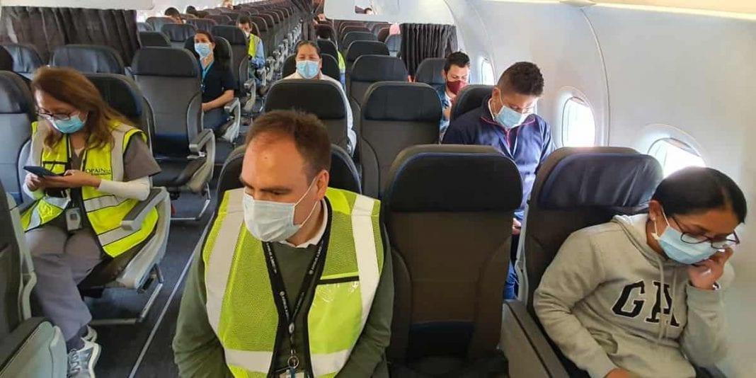 Así fue el simulacro para revisar protocolo de bioseguridad en el Aeropuerto El Dorado