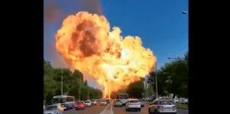 Explosión Rusia
