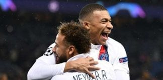 Mbappé y Neymar PSG