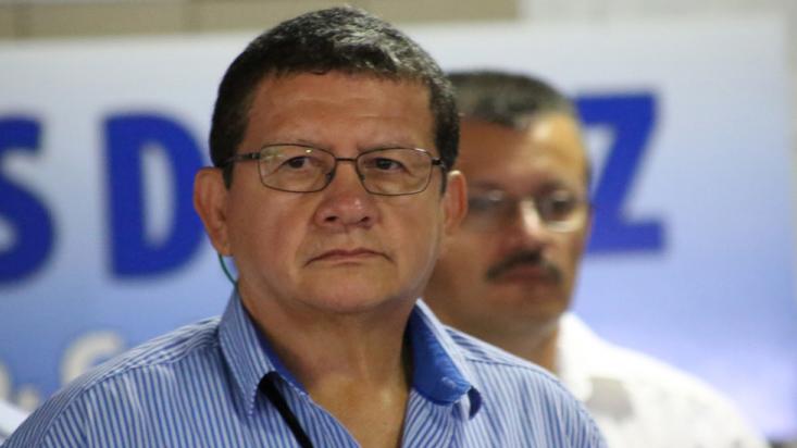 Pablo Catatumbo en la JEP
