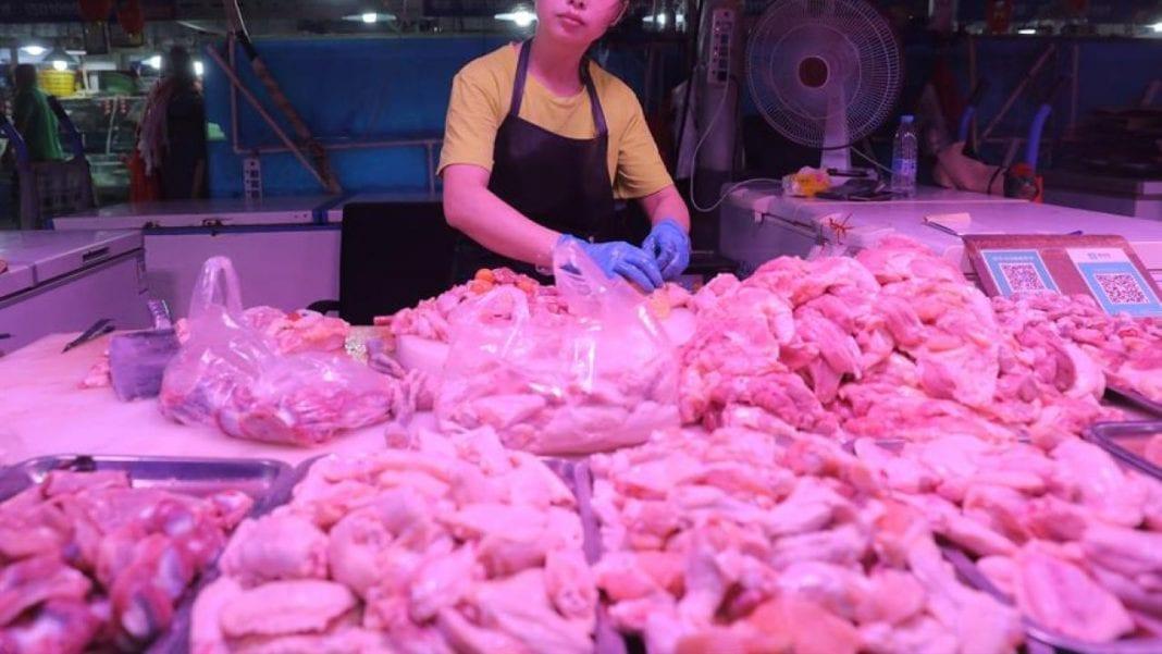 Pollo brasileño en China coronavirus