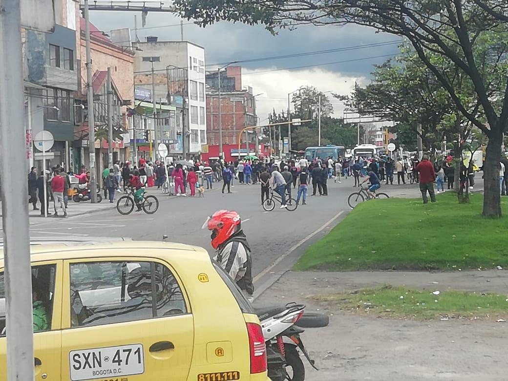 Protestas en Antonio Nariño