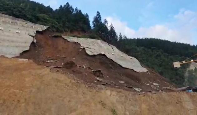 deslizamiento terreno