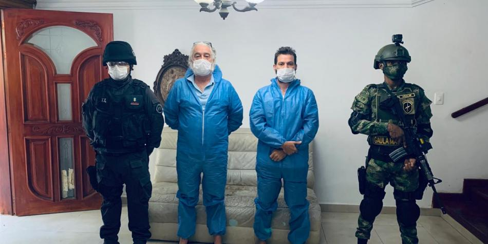 capturados por vender cura falsa Covid
