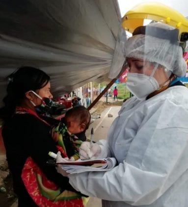 Distrito avanza en entrega de ayudas a pueblo Embera en Tercer Millenio