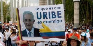 Marchas a favor de Uribe