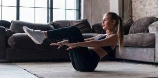 3 ejercicios para marcar abdomen estando en casa