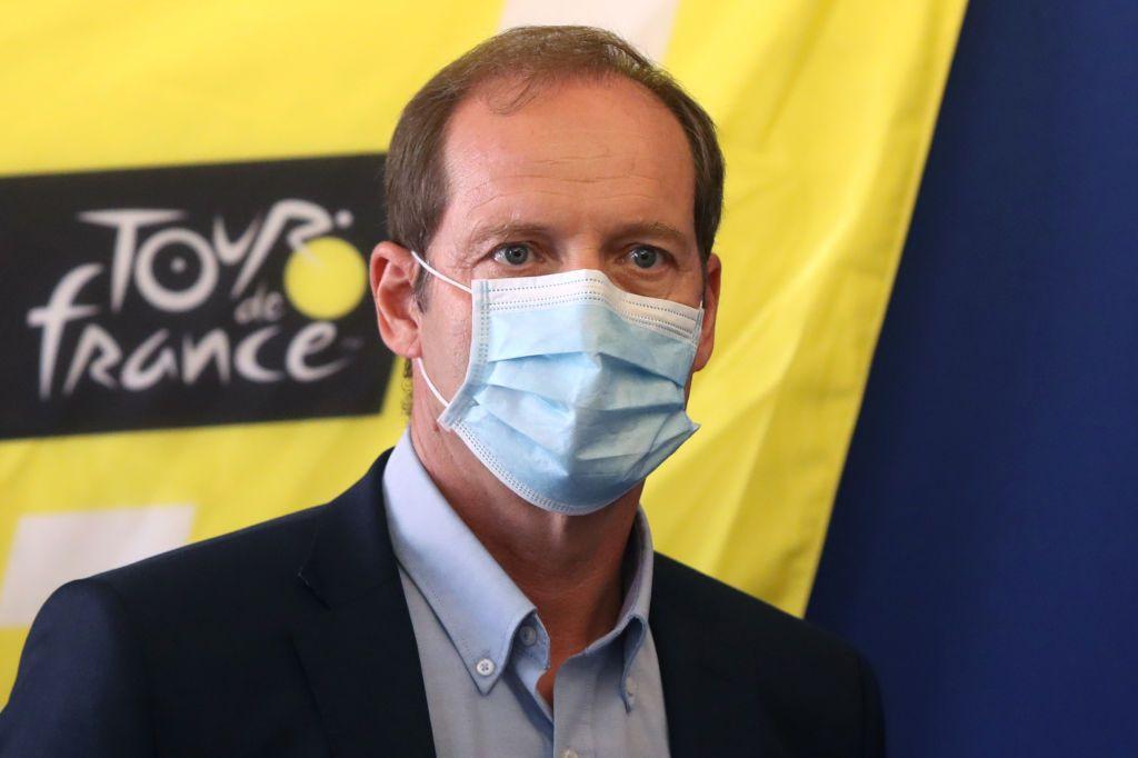 Christian Prudhomme Director del Tour de Francia