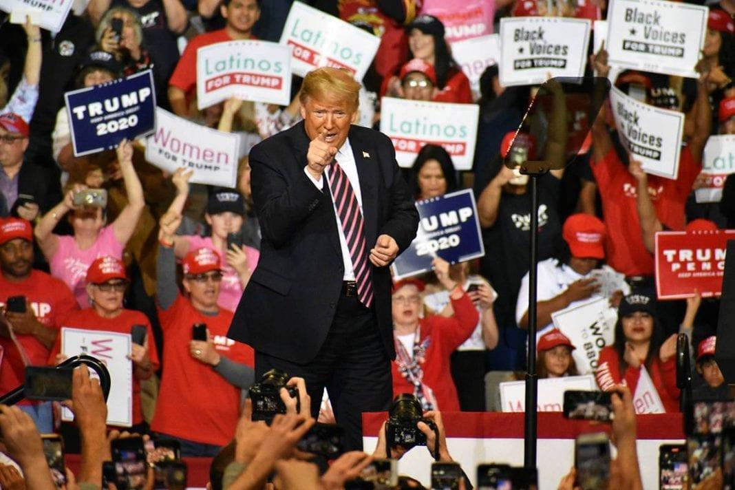 Latinos con Trump
