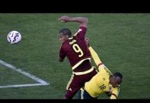 Selección Colombia y La Vinotinto