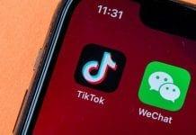 TikTok y WeChat
