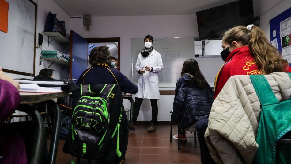 Vuelta a clases Bogotá