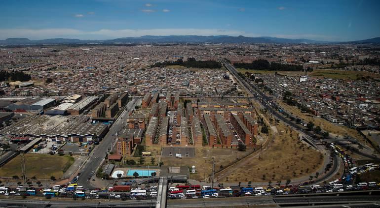 25 barrios de Bosa