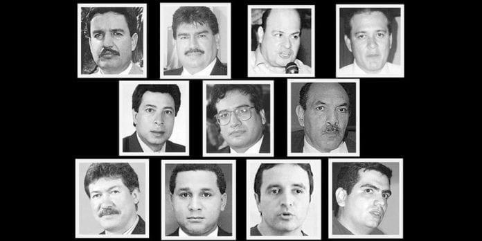 Nación debe indemnizar a familiares de diputados asesinados
