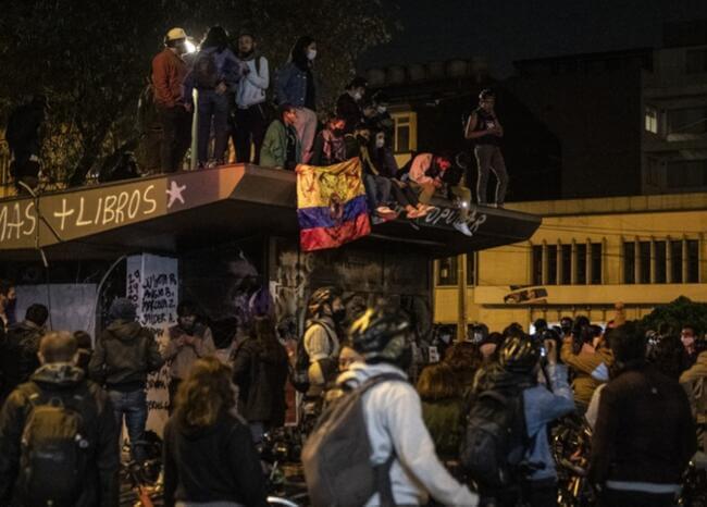 Rebrotes en Bogotá