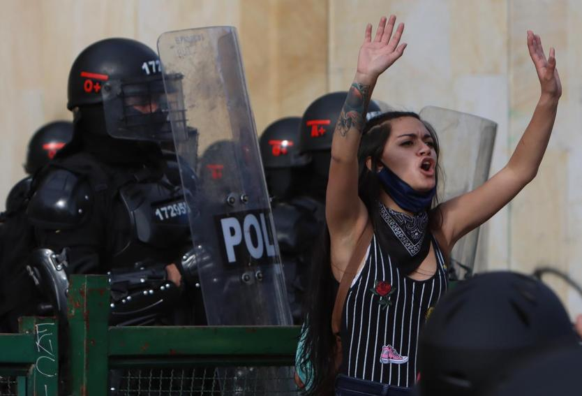 Protestas policía