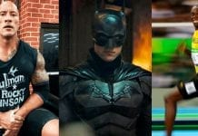 La Roca, Batman y Usaín Bolt