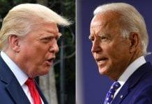 Donald Trump y Joe Biden