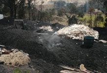 Incautan más de 50 bultos de carbón vegetal en zona rural de Soacha
