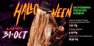 No te pierdas el concierto de Halloween con la Orquesta Filarmónica de Bogotá