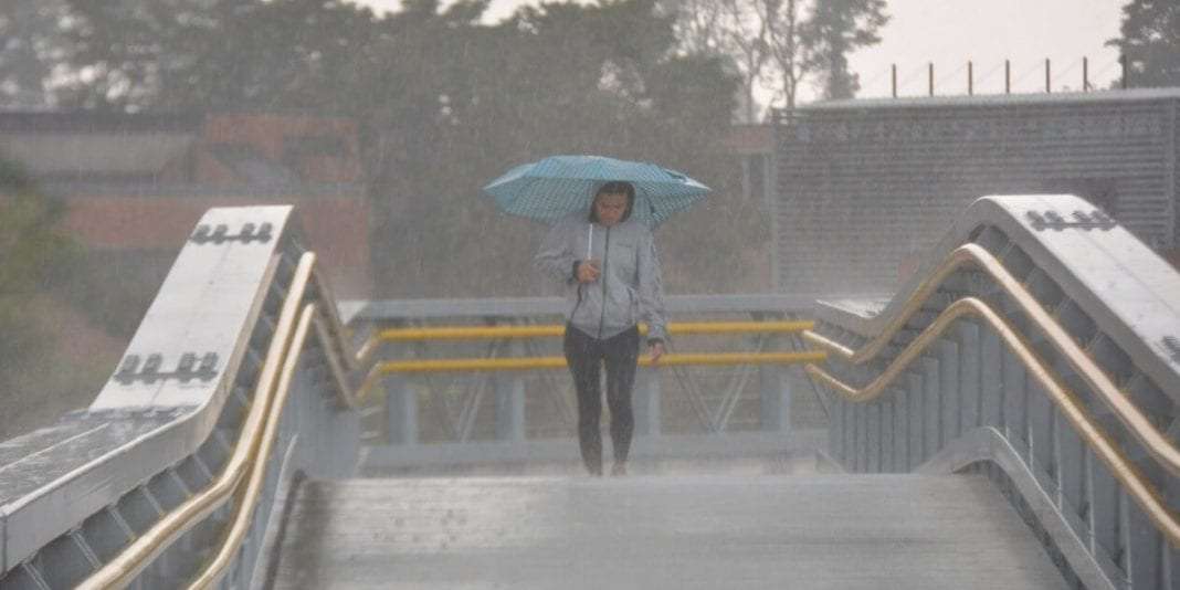 Prepárese para la temporada de lluvias que llega a Bogotá
