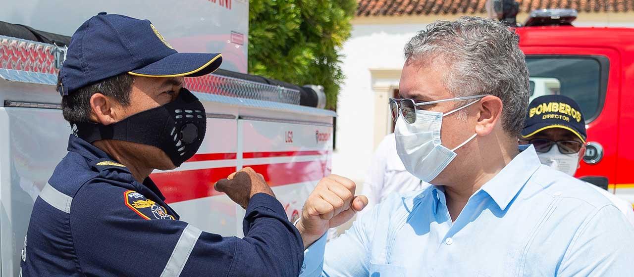 Colombia en días de pandemia